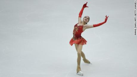 This season is Zagitova's first year on the senior level -- but no one has been able to beat her.