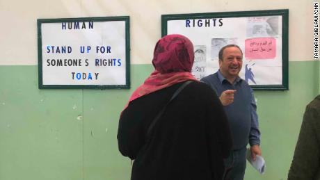 UNRWA says they try to instill a knowledge of human rights into their students.
