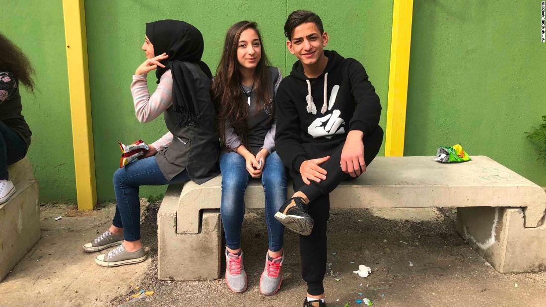 Around 30,000 Palestinian kids go to UN-run schools in Lebanon.