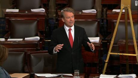 Sen. Paul warns 'day of reckoning' is coming