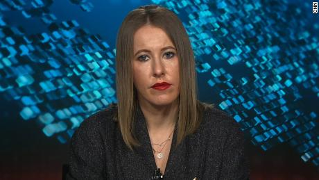 Watch the interviw with Ksenia Sobchak