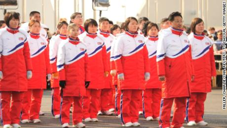 Will North Korean athletes defect?