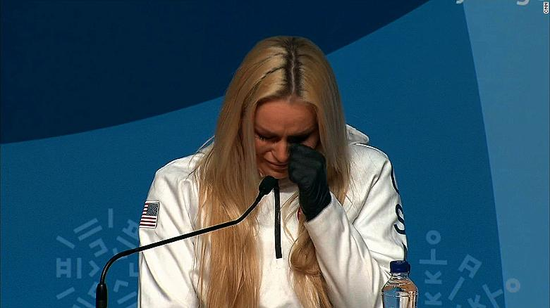 Lindsey Vonn gets emotional over this question