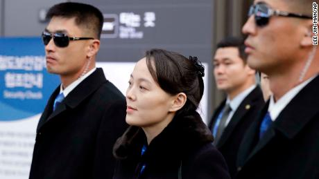 Kim Jong Un's sister arrives in South Korea