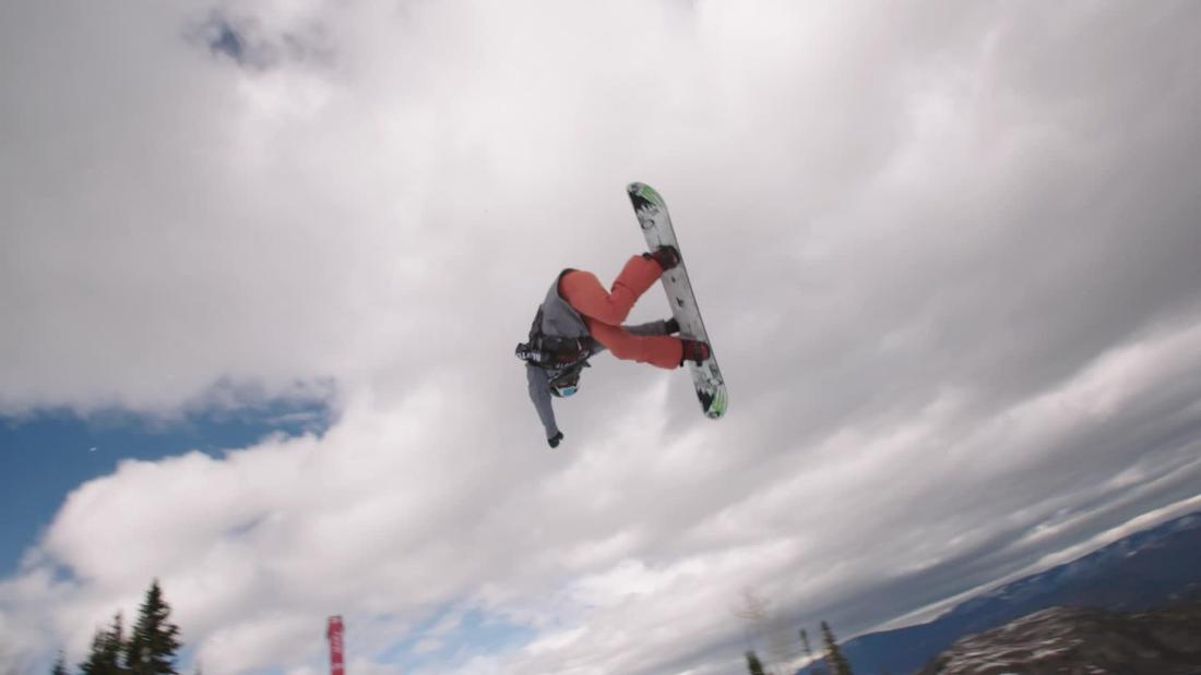 Flipping out on an Olympic snowboard halfpipe - CNN Video
