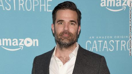 Rob Delaney paid tribute to his toddler son who died in January.