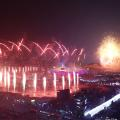 Winter Olympics opening ceremony fireworks