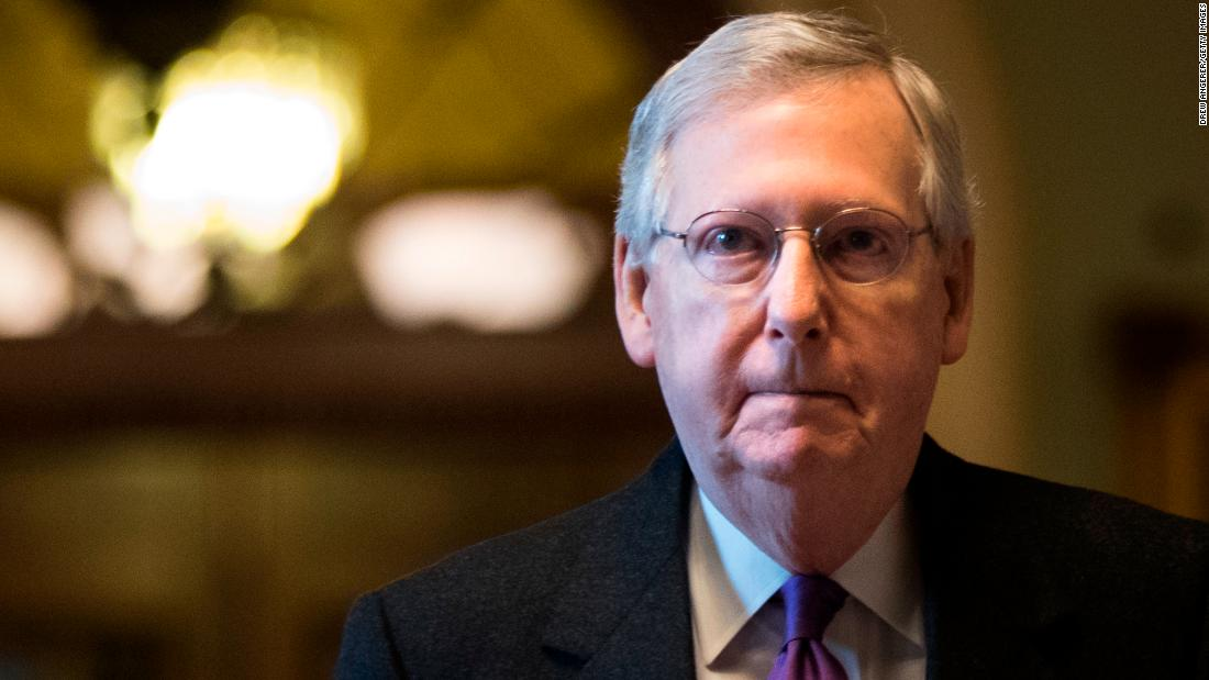 Mitch McConnell silent on Trump's Mueller attacks