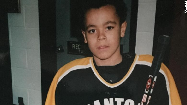 Greenway has been playing hockey since childhood.