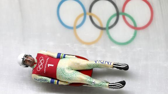 Keshavan is the only athlete from India competing in luge.
