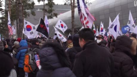 Anti-North Korea protests erupt in Seoul