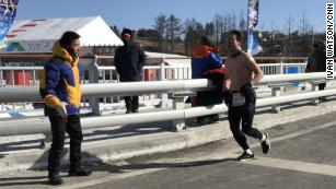 Take a break from the Olympics. Theres a naked marathon