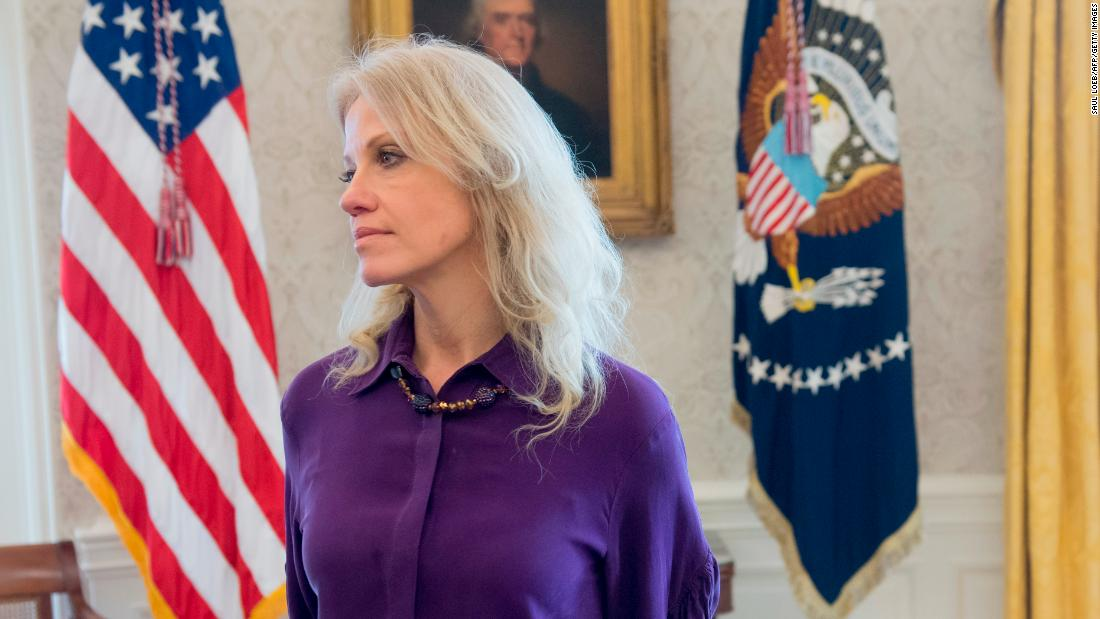 New book alleges Kellyanne Conway is the 'number one leaker' in Trump White House