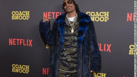 "MINNEAPOLIS, MN - FEBRUARY 02:  Snoop Dogg attends a special screening of Netflix's ""Coach Snoop: Season 1"" at Saint Anthony Main Theatre on February 2, 2018 in Minneapolis, Minnesota.  (Photo by Daniel Boczarski/Getty Images for Netflix)"