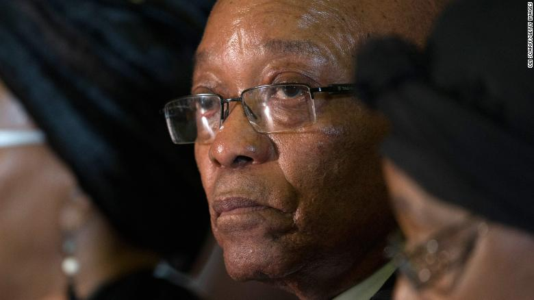 South Africa's ruling party recalls Zuma
