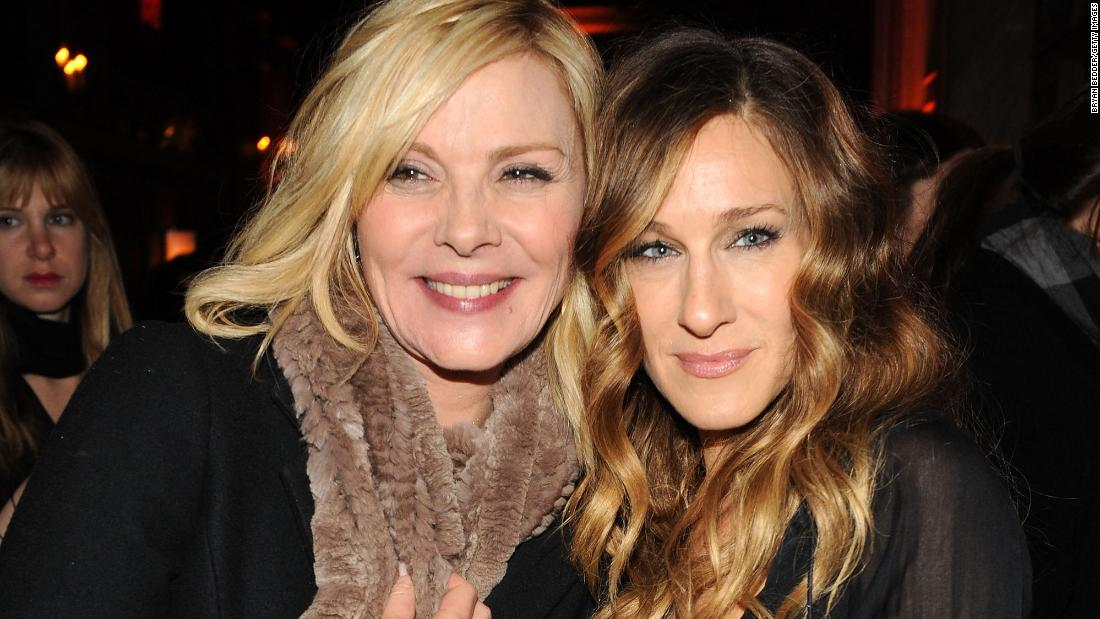 kim cattrall sarah jessica parker feud heres everything you need to know cnn
