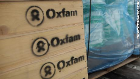 BICESTER, ENGLAND - JANUARY 15:  A fork lift truck driver loads water sanitation equipment at Oxfam's logistics warehouse for shipping to Haiti on January 15, 2010 in Bicester, England. A cargo flight, which is being donated free by British Airways, will leave London's Heathrow airport for neighbouring Dominican Republic on Saturday 16th January.  (Photo by Peter Macdiarmid/Getty Images)