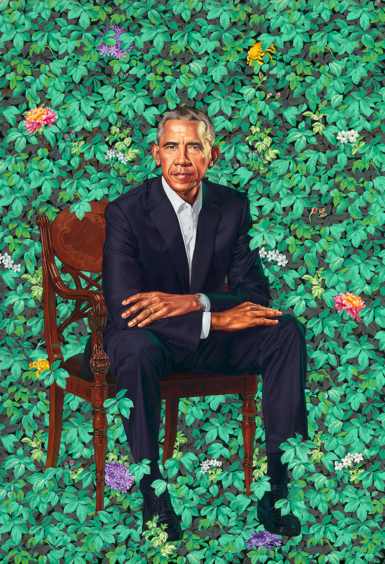 little girl awestruck by michelle obama s portrait believes she s a