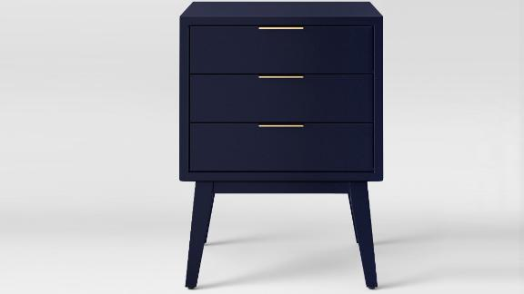 """<strong>Project 62 Hafley Three Drawer End Table ($75.99; </strong><a href=""""https://www.target.com/p/hafley-three-drawer-end-table-project-62-153/-/A-52479272#lnk=sametab"""" target=""""_blank"""" target=""""_blank""""><strong>target.com</strong></a><strong>) </strong>"""