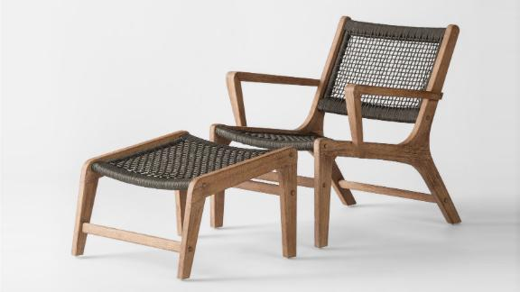 """<strong>Project 62 Oceans 4 Piece Wood and Rope Patio Conversation Set ($728.99; </strong><a href=""""https://www.target.com/p/oceans-4pc-wood-rope-patio-conversation-set-project-62-153/-/A-52963428"""" target=""""_blank"""" target=""""_blank""""><strong>target.com</strong></a><strong>) </strong>"""