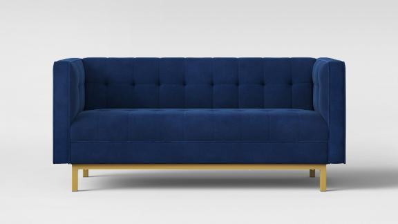 """<strong>Project 62 Cologne Tufted Track Arm Sofa ($405.99; </strong><a href=""""https://www.target.com/p/cologne-tufted-track-arm-sofa-project-62-153/-/A-52593029#lnk=sametab"""" target=""""_blank"""" target=""""_blank""""><strong>target.com</strong></a><strong>) </strong>"""