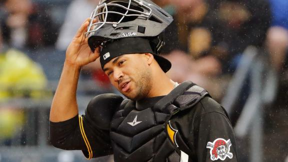 Catcher Elias Díaz  has played for the Pirates since 2015.