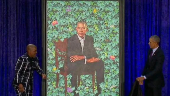 obamas official portraits unveiled amanpour _00000815.jpg