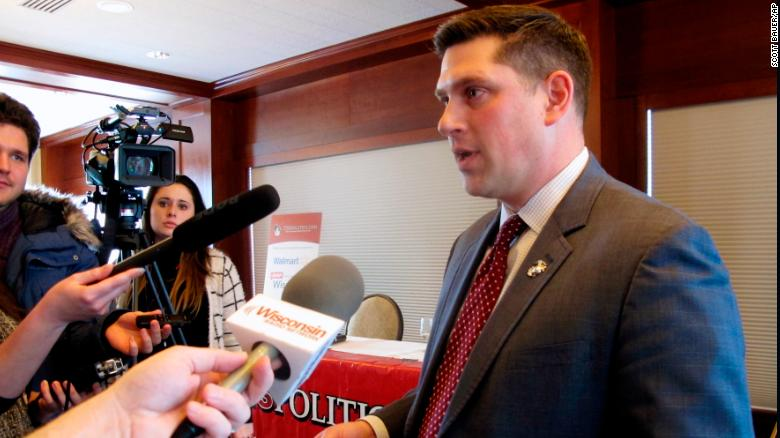 Wisconsin Republican Senate candidate Kevin Nicholson