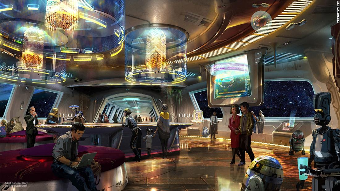 Disney's Star Wars hotel comes with an out-of-this-world price tag