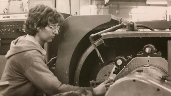 While a member of a Minneapolis-based cult, Alexandra Stein worked a number of jobs assigned by the cult, including one in a machine shop.