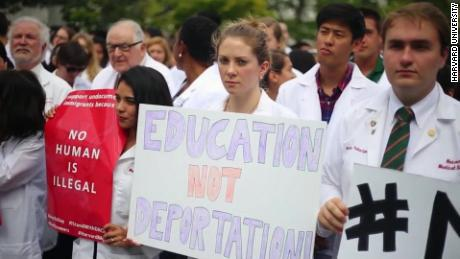 Harvard white coats join the DACA debate