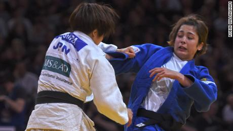 Deguchi vies with former teammates Tsukasa Yoshida in the 2018 Paris Grand Slam final -- a matchup that could be repeated at the Tokyo 2020 Olympics.