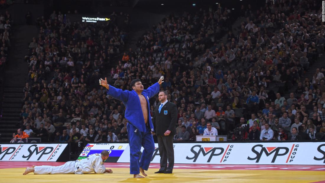 "The 27-year-old earned bronze against the sport's heaviest men in the first major tournament of 2018, but wants to show more ahead of the Tokyo 2020 Games. ""I definitely don't want these medals to be my last,"" Krpalek says. ""I'd like to try and keep fighting for as long as possible."