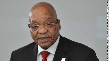 Former President of South Africa Jacob Zuma pictured at the BRICS Summit in Ufa, Russia on July 9, 2015.