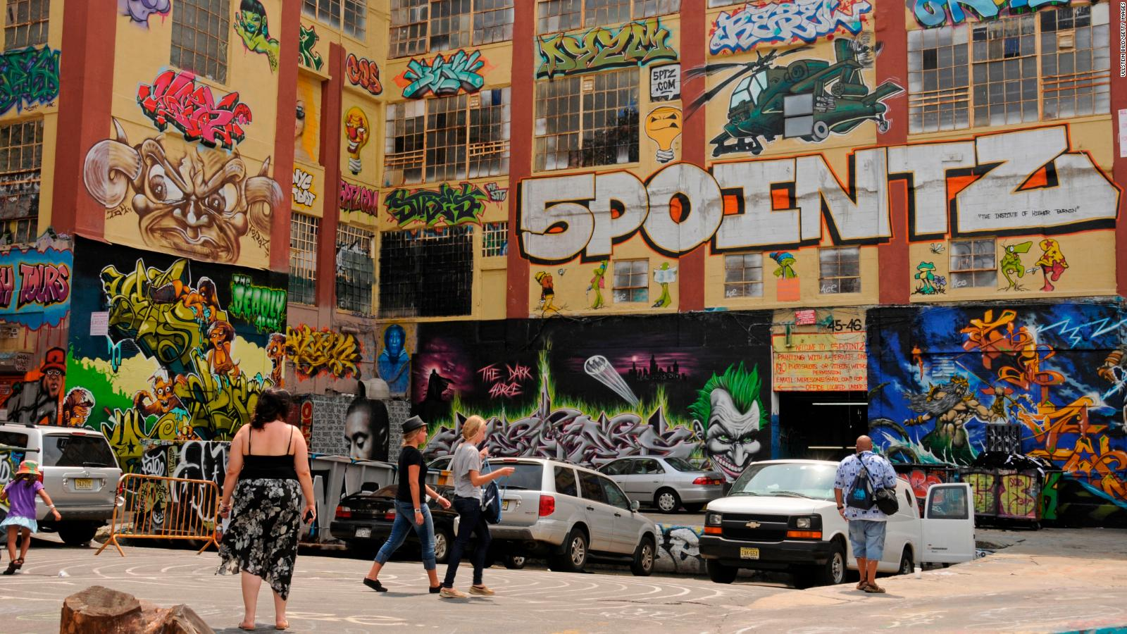 5Pointz Graffiti Artists Awarded 6 7 Million After Their Work Was Destroyed Cnn