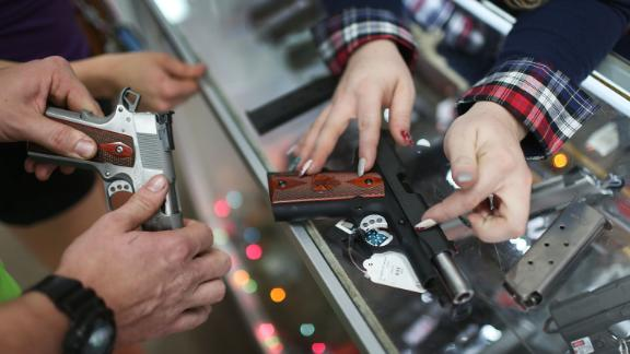 Federal law requires licensed gun shops to conduct background checks, but not private sellers.