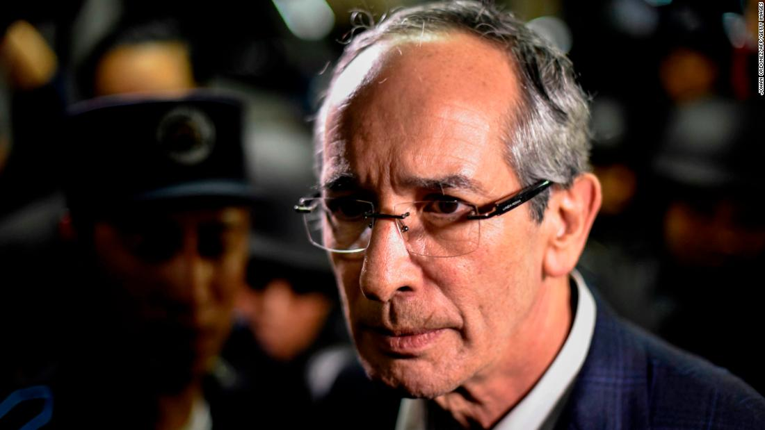 Guatemala detains former president, finance minister on corruption charges