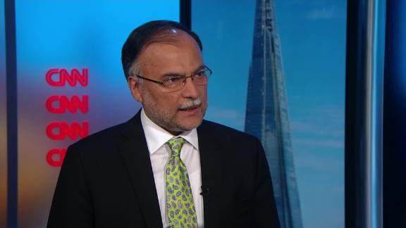 Pakistan's Interior Minister Ahsan Iqbal is recovering after being injured in an attack