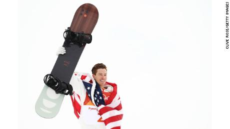 Shaun White won his third Winter Olympics gold medal in the halfpipe at PyeongChang 2018.