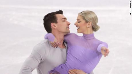Couple's Olympic quest on Valentine's Day