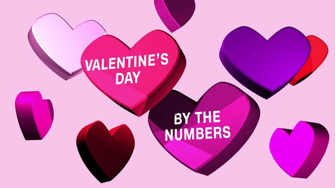 Valentine\'s Day: By the numbers - CNN