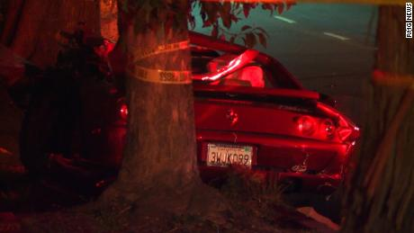 A rollover crash in Pacific Palisades Tuesday night left one person dead and two injured, including pro golfer Bill Haas, according to the Los Angeles County Fire Department.  Firefighters work the scene near a Ferrari involved in a fatal crash in Pacific Palisades on Feb. 13, 2018. (Credit: KTLA) Firefighters work the scene near a Ferrari involved in a fatal crash in Pacific Palisades on Feb. 13, 2018. (Credit: KTLA)  The crash involved a Ferrari and a BMW in the 500 block of North Chautauqua Boulevard and was reported at about 6:30 p.m., fire officials said. The driver of the Ferrari was pronounced dead at the scene while two others were taken to a nearby hospital in serious condition.