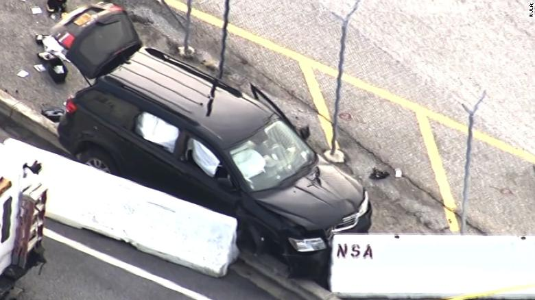 Officials investigate incident near NSA