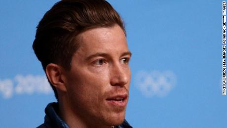 PYEONGCHANG-GUN, SOUTH KOREA - FEBRUARY 14:  Gold medalist snowboarder Shaun White of the United States speaks during a press conference at the Main Press Centre during the PyeongChang 2018 Winter Olympic Games on February 11, 2018 in Pyeongchang-gun, South Korea.  (Photo by Mike Lawrie/Getty Images)