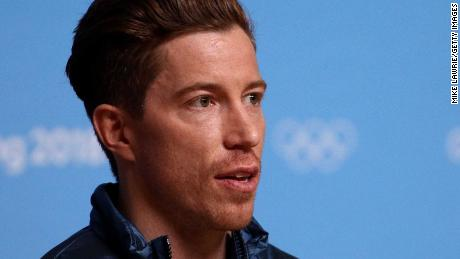 PYEONGCHANG-GUN, SOUTH KOREA - FEBRUARY 14:  Gold medalist snowboarder Shaun White of the United States speaks during a press conference at the Main Press Centre during the PyeongChang 2018 Winter Olympic Games on February 14, 2018 in Pyeongchang-gun, South Korea.  (Photo by Mike Lawrie/Getty Images)