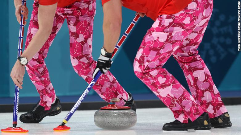 You should really see the Norwegian curling team\'s Valentine\'s ...