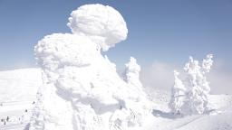 Exploring Japan's spectacular 'snow monsters'