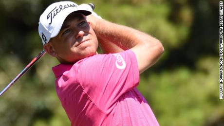 Bill Haas competes in an August tournament.