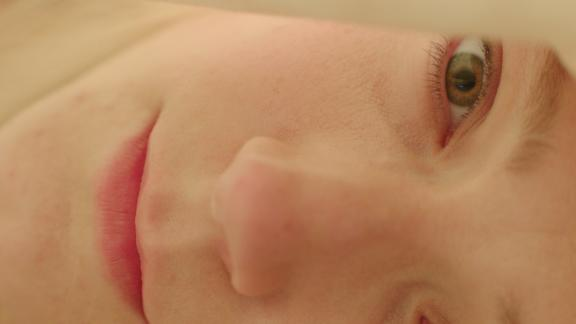 """Alexandra Borbely as shy lover Maria in """"On Body and Soul."""""""