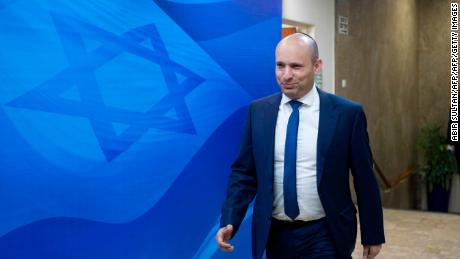 Naftali Bennett is the head of the right-wing Jewish Home party.